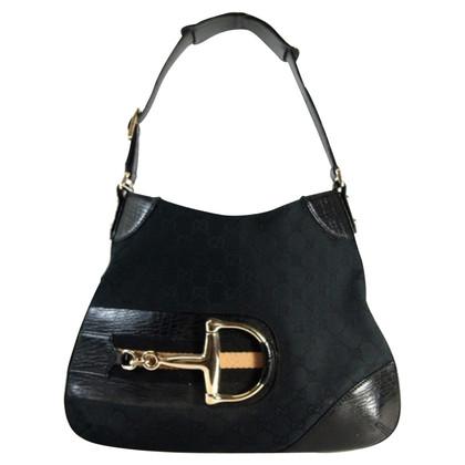 Gucci Handtasche mit Horsebit-Detail