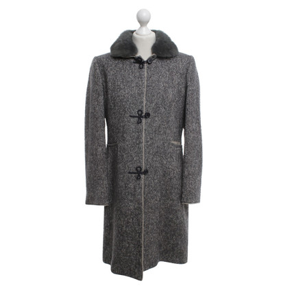Riani Cappotto con collo in visone