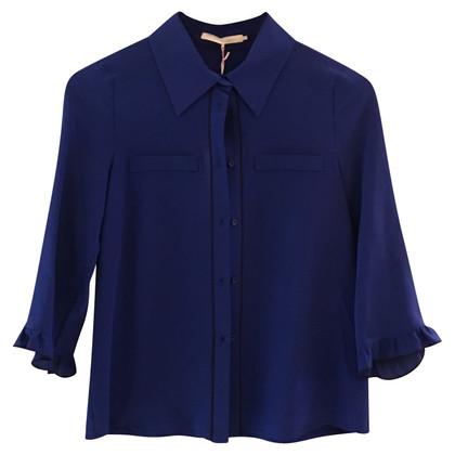 L'autre Chose Blouse in blue