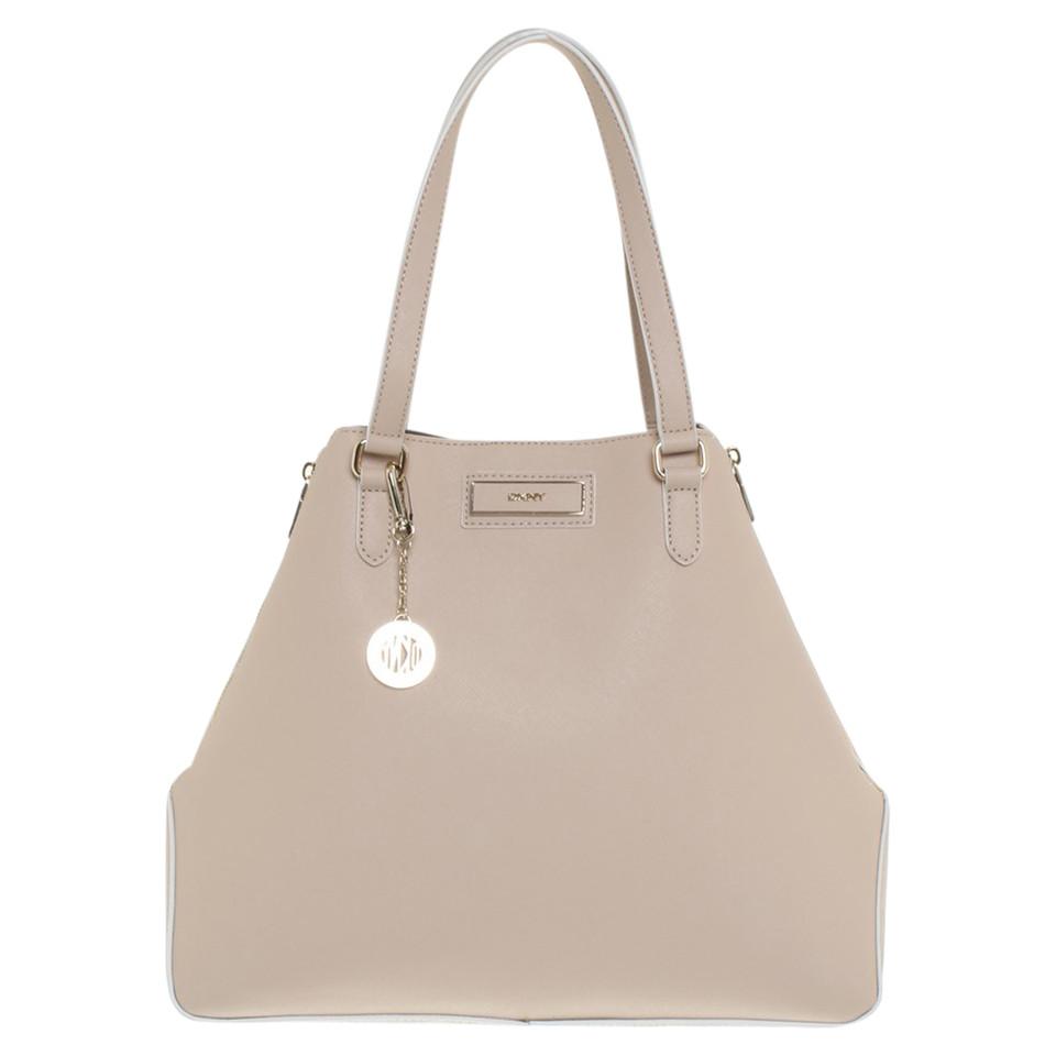 dkny handtasche in beige second hand dkny handtasche in beige gebraucht kaufen f r 193 00. Black Bedroom Furniture Sets. Home Design Ideas