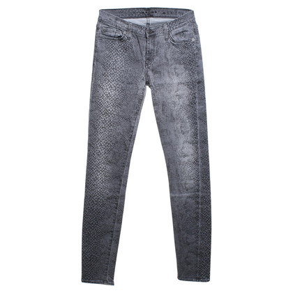 7 For All Mankind Jeans mit Muster