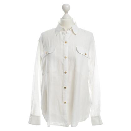 Ralph Lauren Blusa in bianco