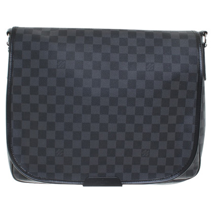 "Louis Vuitton ""Daniel GM Damier Graphite Canvas"""