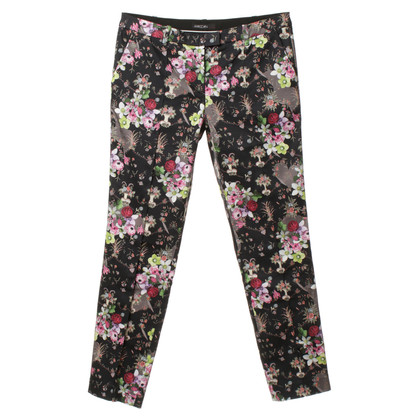 Marc Cain Pants with a floral pattern