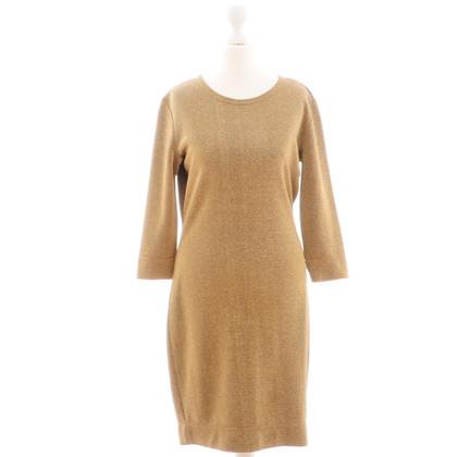 Moschino Cheap and Chic Goudkleurige minidress