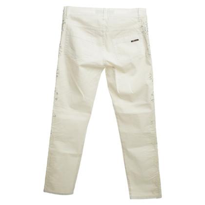 Blumarine Pantaloni in crema