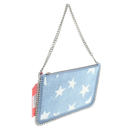 Stella McCartney clutch with star print