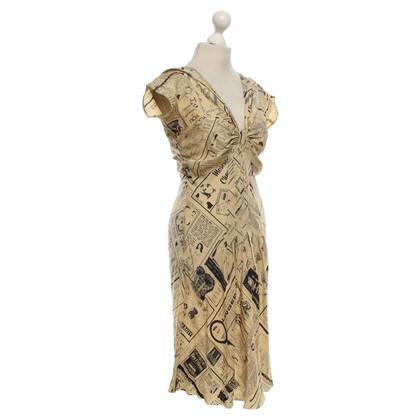 Moschino Kleid mit Motiv-Print