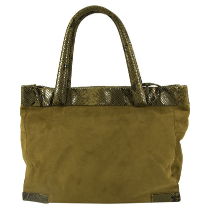 Max Mara Satchel Bag Ledermix