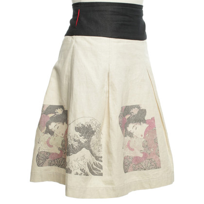Other Designer St. Martins skirt - skirt with pattern print