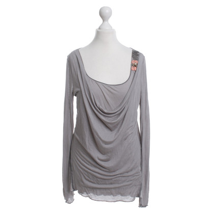 Schumacher top in grey