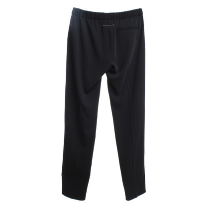 MM6 by Maison Margiela trousers in black