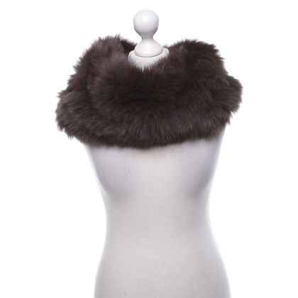 Plein Sud Fur loop scarf