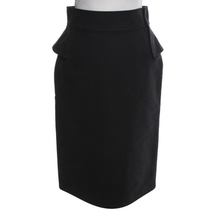 Hussein Chalayan Pencil skirt in black