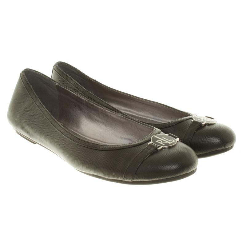Ralph Lauren Ballerinas in black ...