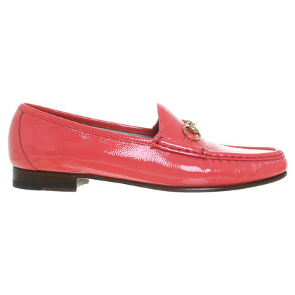 Gucci Mocassino in corallo rosso