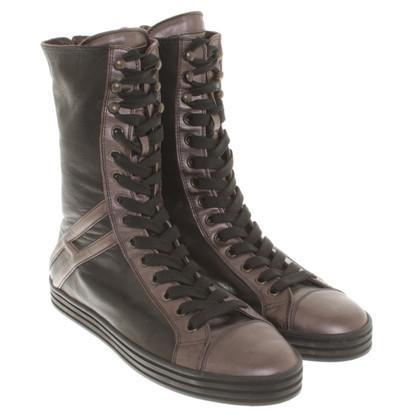 Hogan Stiefel mit Schnürbändern