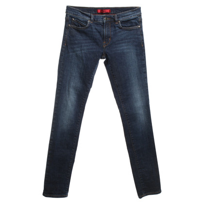 Hugo Boss Stonewashed jeans in blue
