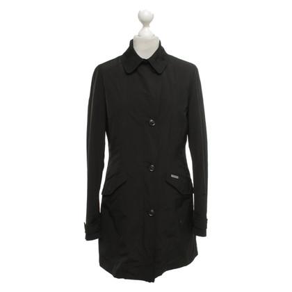 Woolrich Manteau court en noir