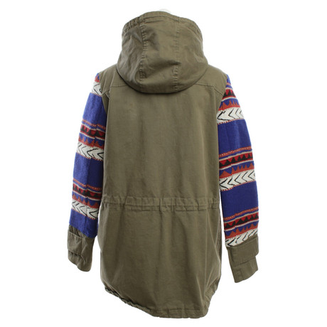 Camouflage Parka Camouflage Multicolor in Muster Couture Couture Bunt HwdqtPHW