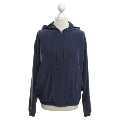 Equipment Seidenjacke in Blau