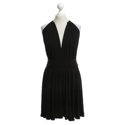 Plein Sud Neckholder dress in black