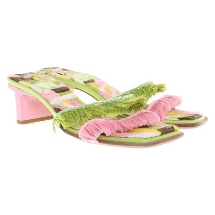Fendi Sandalen in multicolor