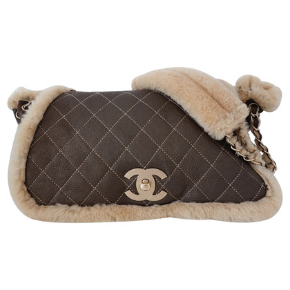 Chanel Flap Bag van schapenvacht/leer