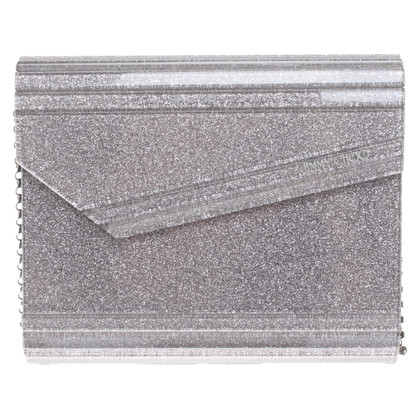 Jimmy Choo Colore argento clutch