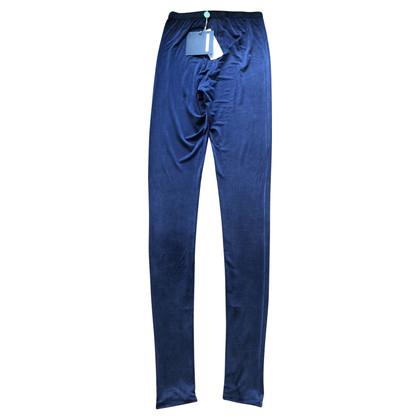 Maurizio Pecoraro  leggings bleu