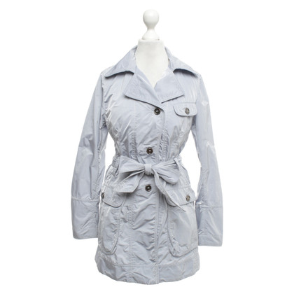 Cinque Trench coat in blue / grey
