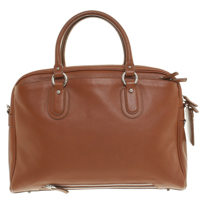 Aigner Leather business bag