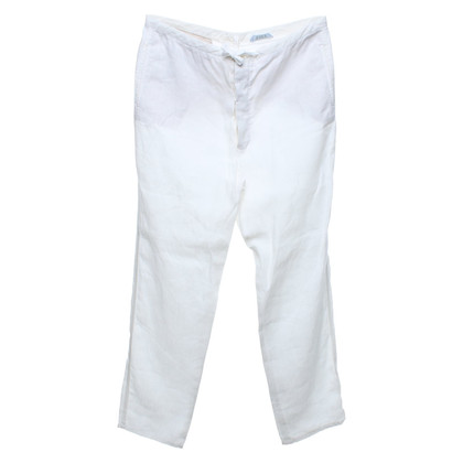 Strenesse Blue trousers in white