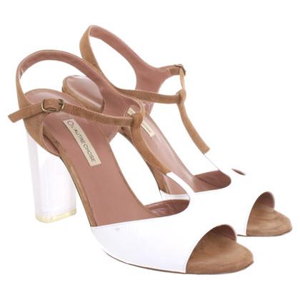 L'autre Chose Sandals with suede