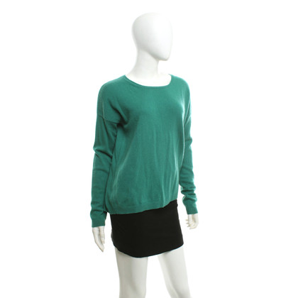 FTC Sweater in emerald green