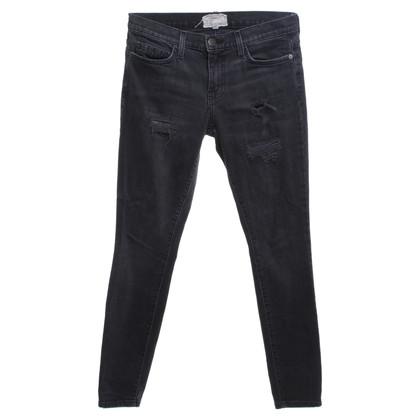 Current Elliott Jeans in dark gray