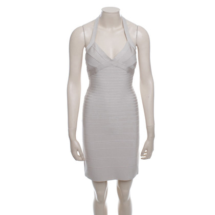 Hervé Léger Dress in Beige