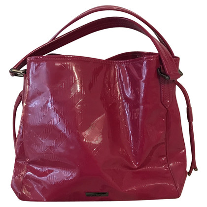 Burberry Burbarry bag lacquer raspberry pink