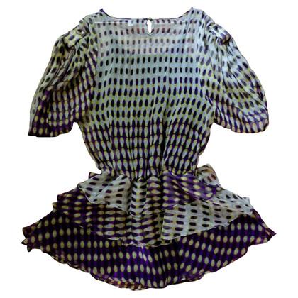 Alberta Ferretti Zijden jurk