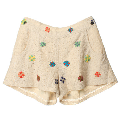 Hoss Intropia Pantaloncini con motivo floreale