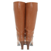 Tod's Leder-Stiefel in Braun