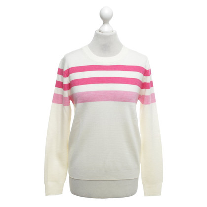 J. Crew Sweater with block stripes