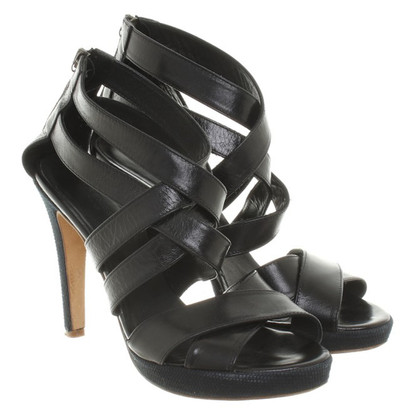 Strenesse Blue Sandals in black