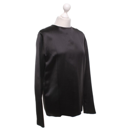 Nina Ricci Blouse shirt in donkerbruin