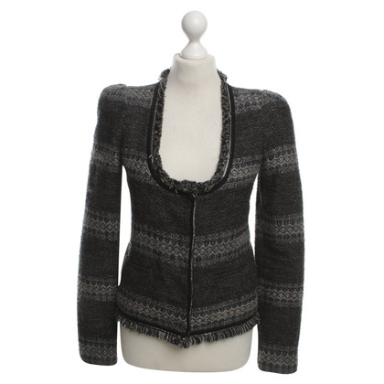 Patrizia Pepe Boxy jacket with fancy
