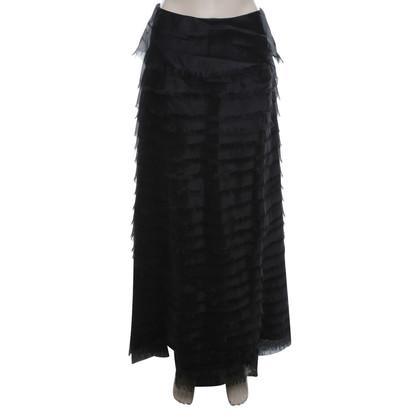 La Perla skirt silk