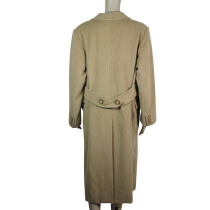 Max Mara Wollen jas in Camel
