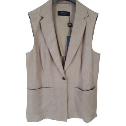Max Mara Linen waistcoat