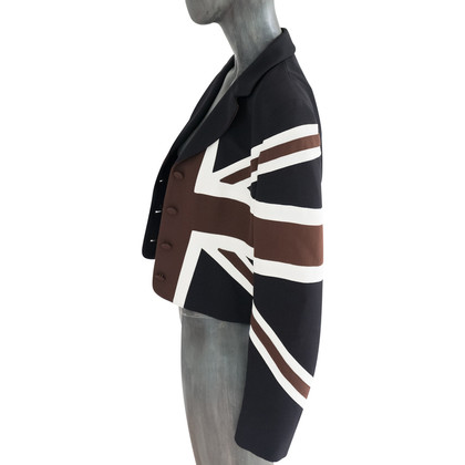 Moschino Cheap and Chic Jacke mit Union-Jack-Motiv