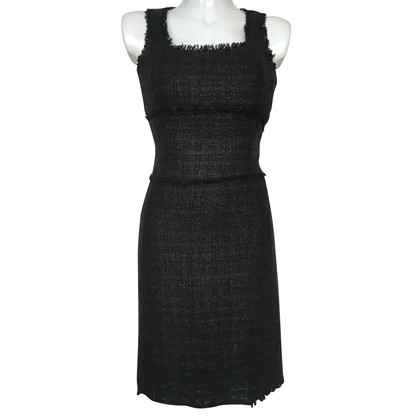 Michael Kors Tweed-Kleid in Schwarz